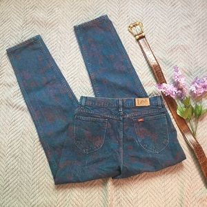 VTG High Rise Printed Denim by Lee